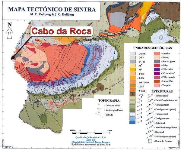 mapa geologico de lisboa GC1HGAY Cabo da Roca   DP/EC33 (Earthcache) in Lisboa, Portugal  mapa geologico de lisboa