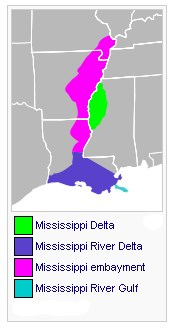 Gc3nfqa The Mississippi Delta Earthcache In