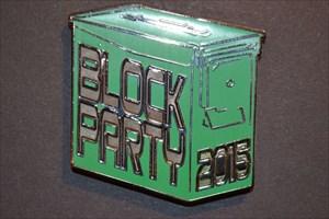 2015 Block Party Ammo Can Geocoin