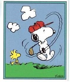 swama Snoopy Golfer