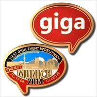 Erstes Giga — Gold