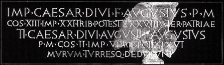 Napisna ploŠca : Roman inscription