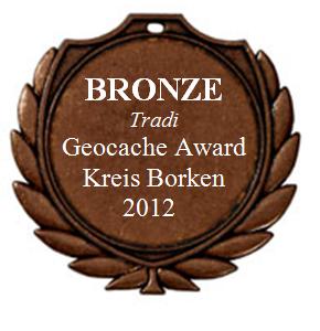 BRONZE (Tradi) - Geocaching Award Kreis Borken 2012