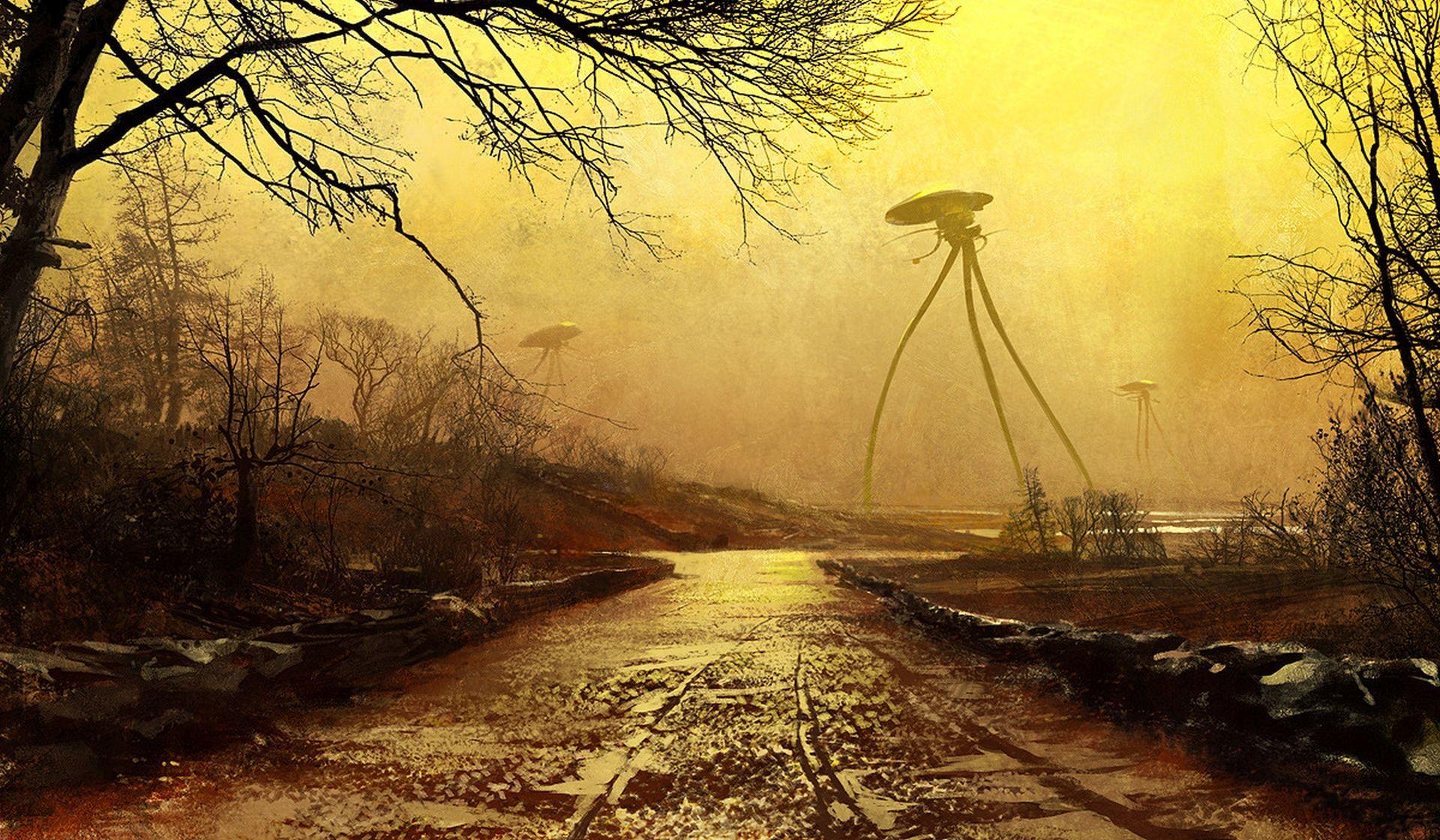 The War of the Worlds (artwork by Jaime Jones)