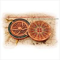 2009 Compass Rose Geocoin - Copper