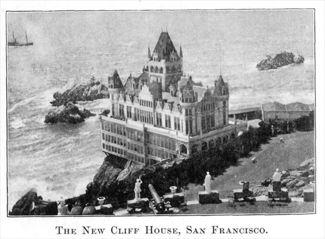 The New Cliff House, Sam Francisco