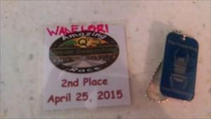 2nd Place Q's Amazing Race WADELORI