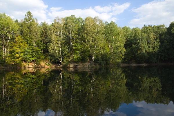 Kaolínové jezírko (2012) / Kaolin lake (2012)
