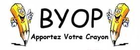 BYOP Apportez Votre Crayon