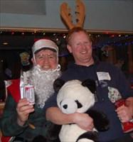 Keelong, Santa and Catapult Jeff