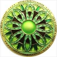 Lotus Compass Geocoin - Osiris
