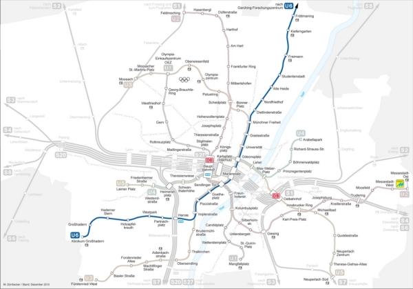 Streckenverlauf U6
