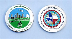 Houston Control Geocoin