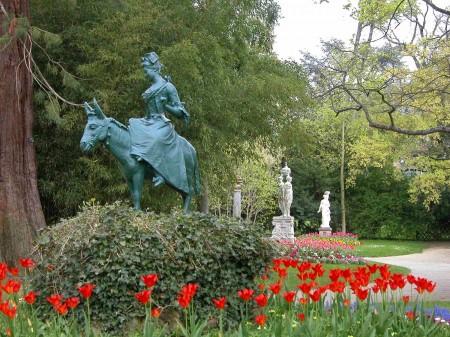 Gc1njcf jardin des plantes du mans 1 traditional cache in pays de la loire france created by - Deco jardin colore le mans ...