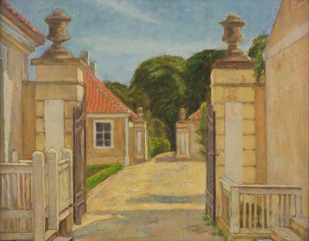 indgang til Frydenlund