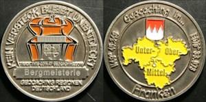 Bergmeisterles Franken-Medaille