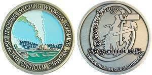Wyoming Geocoin