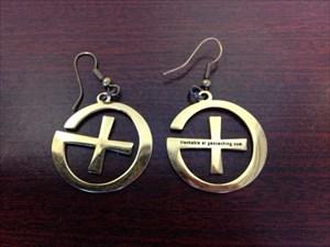 Caching Sisters Geowelry Earrings
