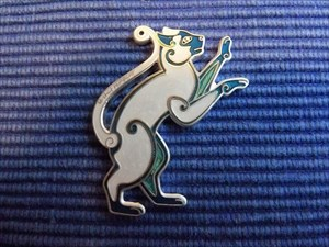 Le Chat Rampant Geocoin - Ice Queen
