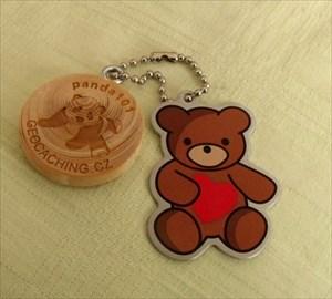 zamilovaný medvídek