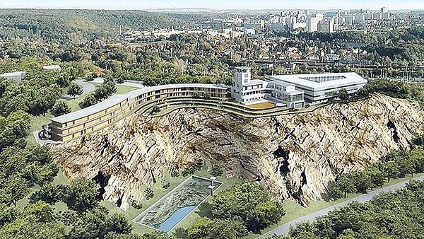 Návrh na opravu Barrandovských teras