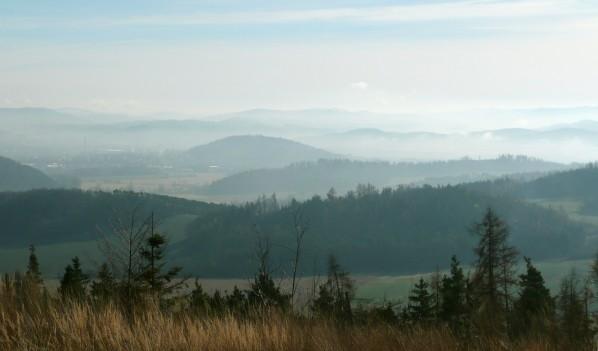 Výhled z Kněžské hory