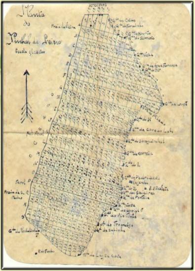 Mapa do Pinhal de Leiria