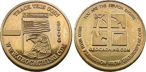 2006 USA Geocoin