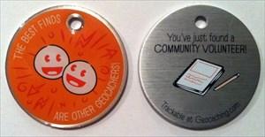 Community Volunteer Tag