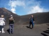 With our GPS @ Etna Sud @ 3.000 meters