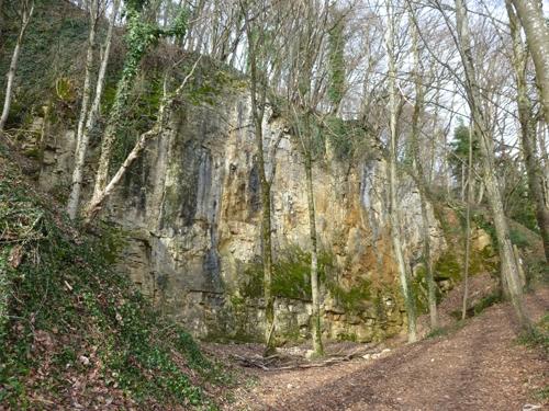 Der Kalksteinbruch
