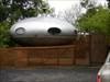 Spaceship house log image
