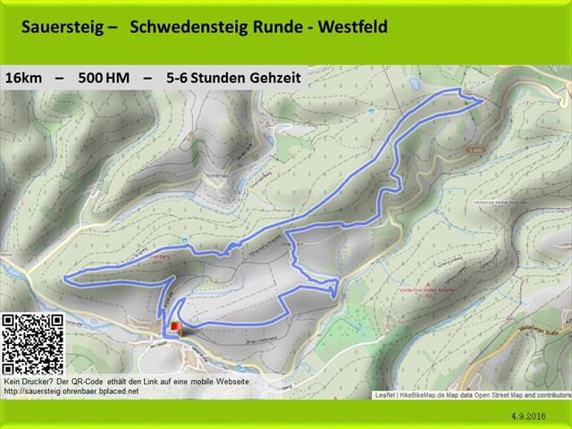GPSies - Sauersteig - Kahler Asten Steig - Westfeld