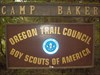 Camp Baker on Oregon Coast and Geoscout Geoscout makes it all the way to Camp Baker and earns his giant slug badge.