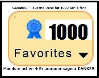 Tausend Dank für 1000 Schleifen! am 03.02.14