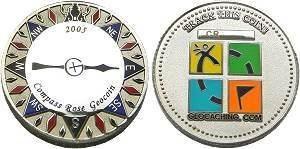 Compass Rose 2005 Geocoin