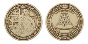 John Harrison Geocoin - The H1 CHRONOMETER