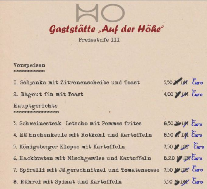 HO Gaststätte