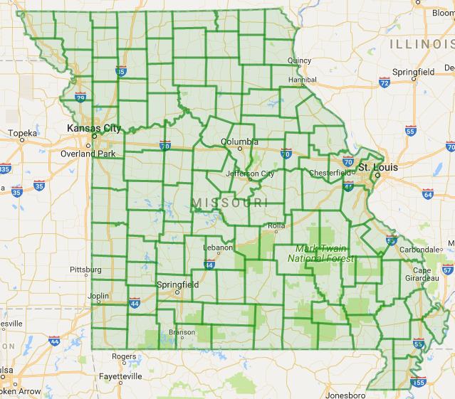 GC18GHZ Missouri County Challenge Unknown Cache in Missouri