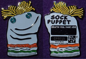 Geoswag C&P Club July 2006 - Sock Puppet