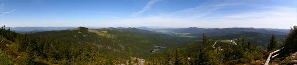 Panorama od Vogelsangu po Javornou