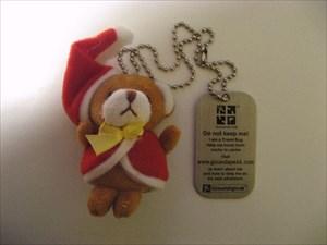 Brown Teddy Christmas