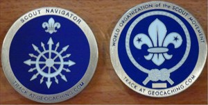 World Scout Geocoin
