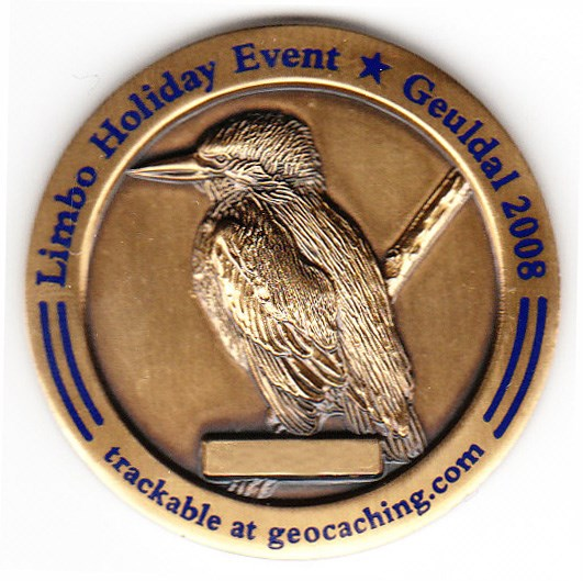 Limbo Holiday Event Geocoin - back