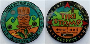 King Watchung Tiki Event Geocoin