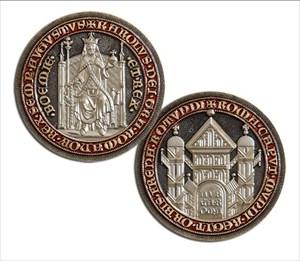 Karel IV – Czech King Geocoin