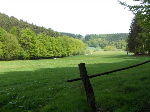 Weserbergland-Landschaft