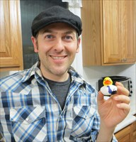 Michael with Michael Duck
