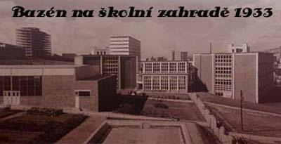 skolni zahrada 1933