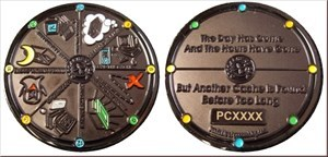 Geocacher's Day Geocoin
